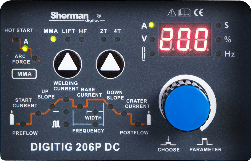 Sherman DIGITIG 206P DC